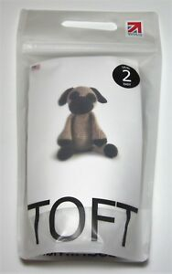 Details about Toft SPENCER the PUG Dog Toy Animal YARN and PATTERN CROCHET  KIT