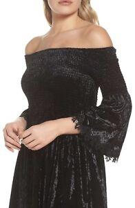 NEW-KOBI-HALPERIN-Donella-Velvet-Dress-XS-MSRP-188