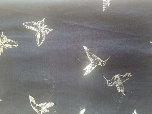 Sliver Foil Hummingbird And Butterfly Scarf Scarves /& Wraps