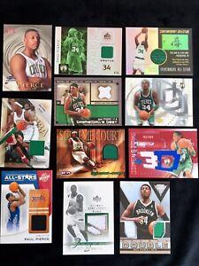Paul-Pierce-Ultimate-10-Card-Jersey-Rookie-Collection
