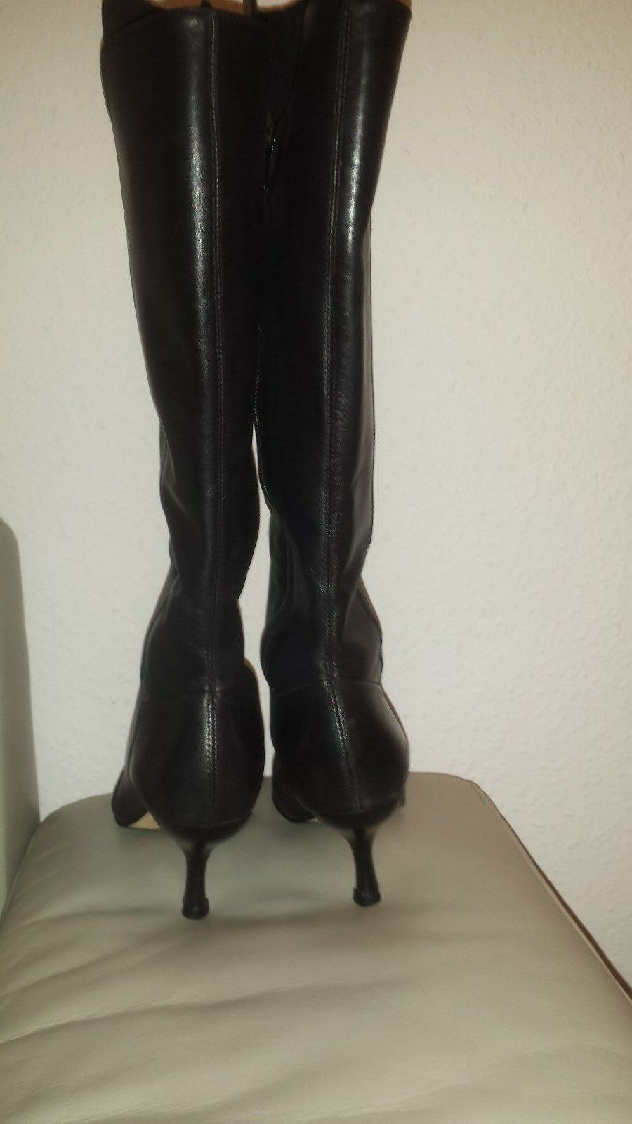 Damen Buffalo schwarz Stiefel in schwarz Buffalo Gr.38 bc1663