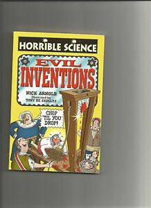 horrible science evil inventions book - <span itemprop=availableAtOrFrom>Lincoln, United Kingdom</span> - horrible science evil inventions book - Lincoln, United Kingdom