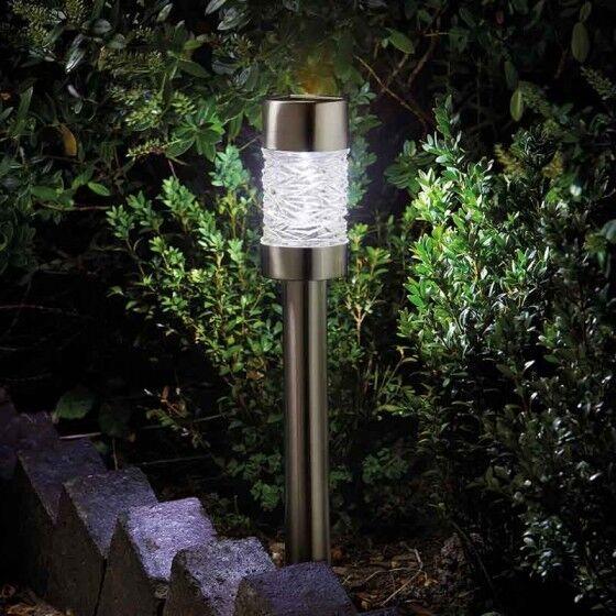 Radiance Super Bright 5Lumen Solar Garden Stake Light Supports Macmillan Charity