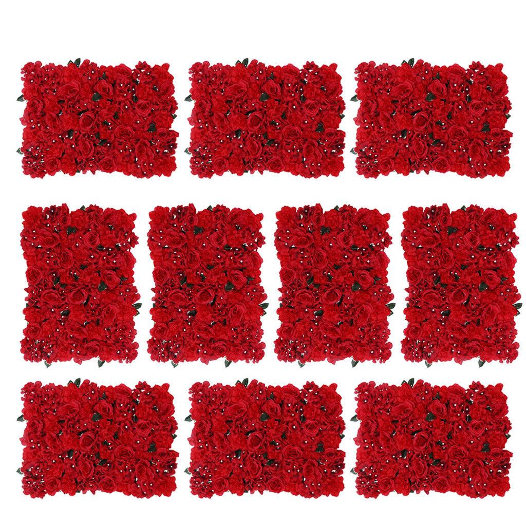 8pcs roses bleumenwand à faire soi-même comme Arrière-plan et la route, Taille  60 x 40 cm