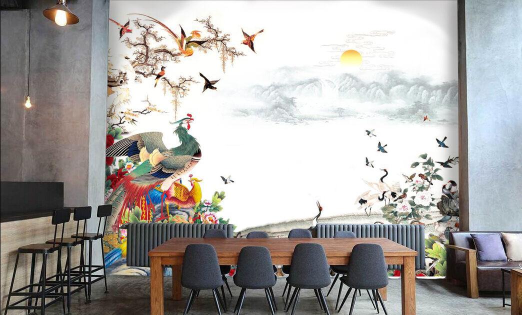 3D Flowers Steps Stair Risers Decoration Photo Mural Vinyl Decal Wallpaper CA