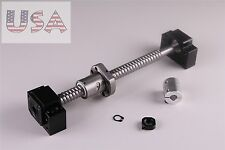 Sfu1605 Ball Screw L300mm Ampbkbf12 End Machined With Br Coupler