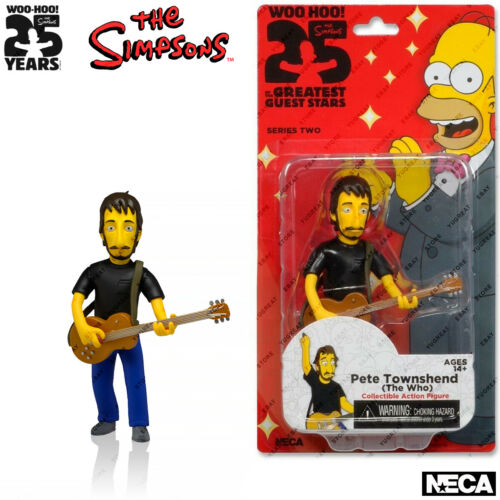 """NECA les simpsons Series 2 The Who Pete Townshend action figures 5.1/"""""""