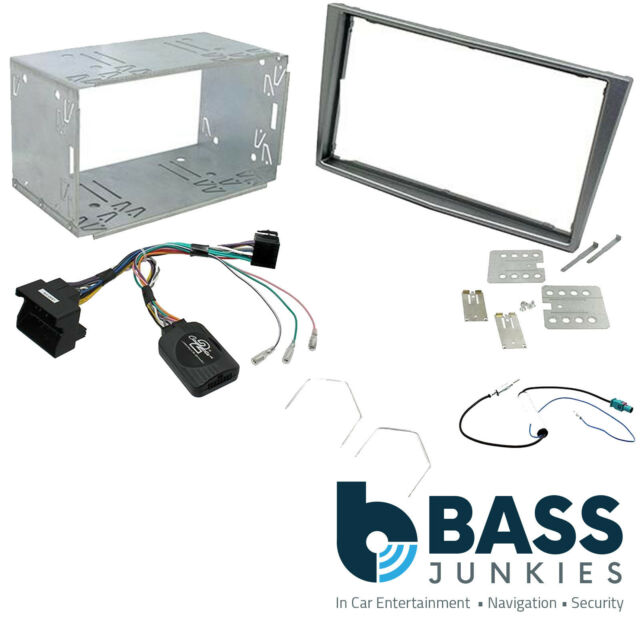 CONNECTS2 CORSA C DOUBLE DIN STEREO FACIA KIT SILVER