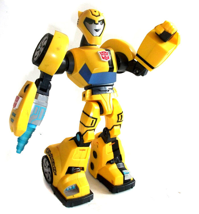 Transformers Chunky 11  Bumblebee Talking figure with  lights FOR YOUNG KIDS
