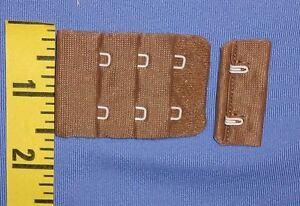 "6 Sets Bra Back Repair Hook and Eye Bra Back Closure Black 1/""  #TW79"