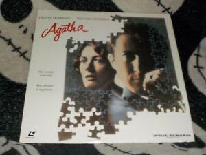 Agatha-Widescreen-Laserdisc-Ld-Dustin-Hoffman-Vanessa-Redgrave