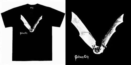 Gotham City Heavy Power Speed Metal NWOBHM Bat T Shirt