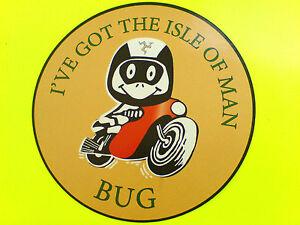 I-039-VE-GOT-THE-ISLE-OF-MAN-BUG-TT-Fans-Van-Car-Bumper-Sticker-Decal-1-off-90mm