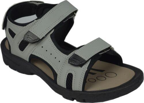 New Men/'s Casual Sport 3 Adjustable Comfortable Straps Sandals Nobl