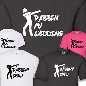 a1bd19be3cc520 Vêtements, accessoires T-shirt JGA marié Hangover Enterrement Groom DAB  dabbin Crew s-5xl