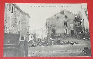 CPA-CARTE-POSTALE-GUERRE-14-18-54-BADONVILLER-LORRAINE-RUE-NOTRE-DAME