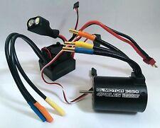 1/10 coche RC Buggy 4P motor sin escobillas 5200KV Sensorless 3650 & 60A ESC Combo Set
