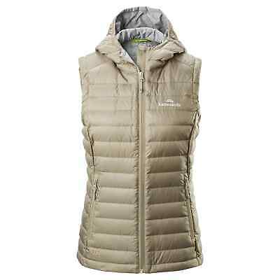 NEW Kathmandu Heli Women's Lightweight Duck Down Warm Insulated Puffer Vest v2