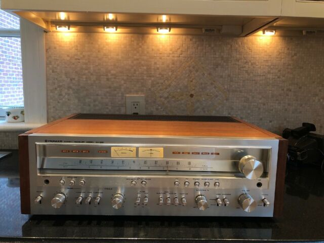 MINT Pioneer SX-950 AM/FM Stereo Receiver Wood Case Perfect Working Condition