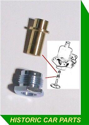 DAIMLER Dart SP250 1959-64 1 HD6 SU Carburettor Float Chamber Lid Bolt /& Seals