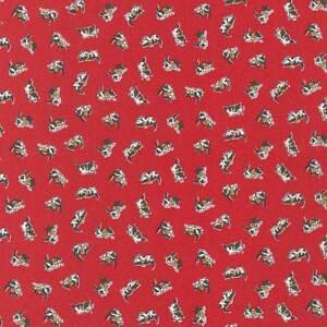 Cat-fabric-Retro-Kittens-Darlene-Zimmerman-Morningside-Farm-Red-FQ-Metre