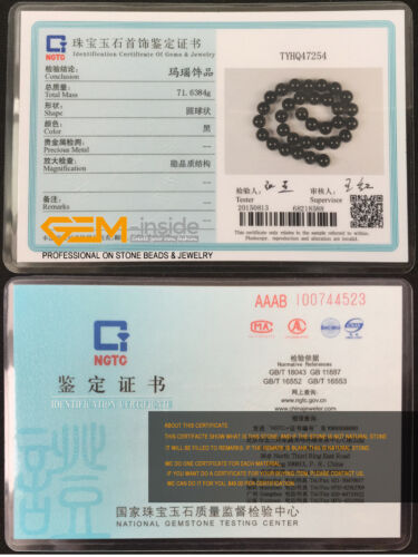 "Natural Black Onyx Agate Gemstone Oval Twist Beads For Jewelry Making Strand 15/"""