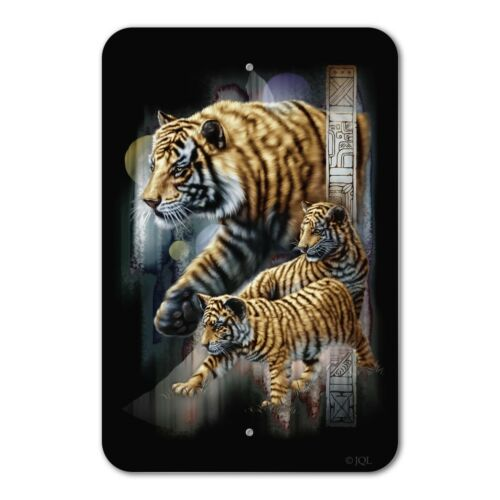 Orange Bengal Tigers Home Business Office Sign