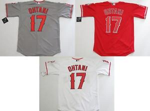 sale retailer d2029 10482 Details about Shohei Ohtani #17 Los Angeles Angels Cool Base Mens Jersey  Home/Away