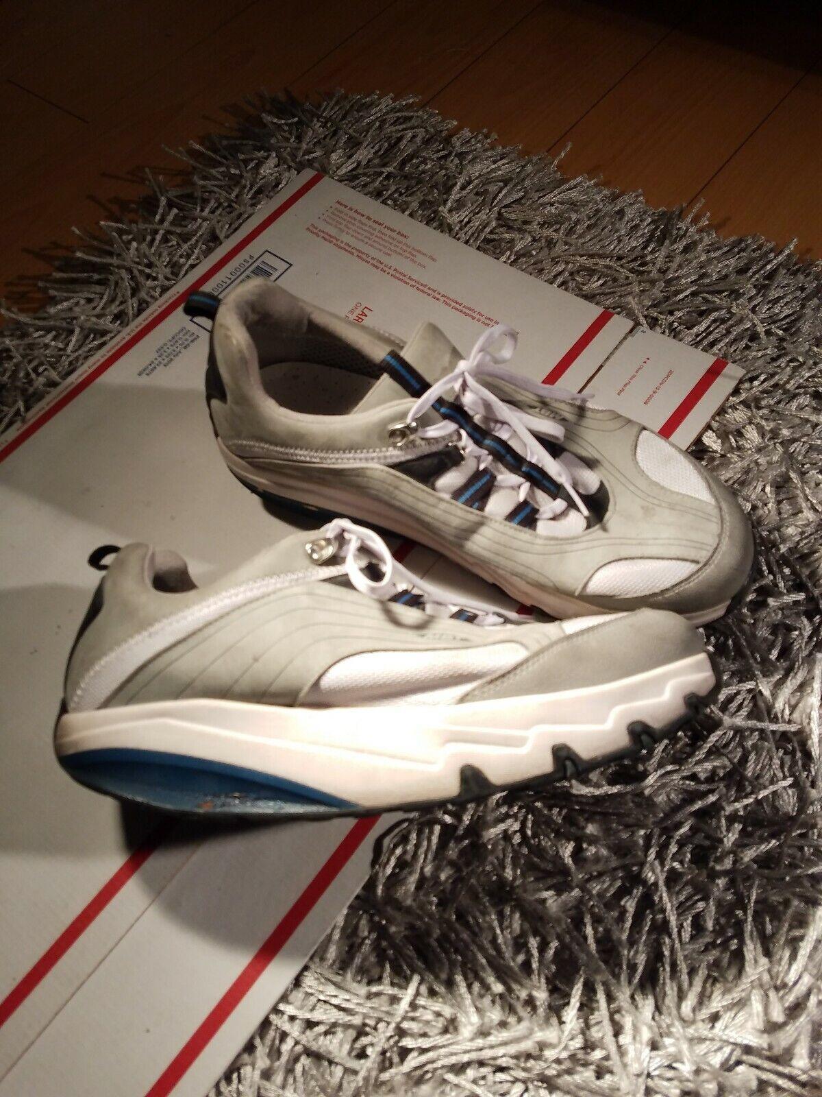 Hombres Mbt zapatos Cuero gris