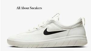 Nike-SB-Nyjah-gratuito-2-034-Summit-Bianco-summi-034-Uomo-Scarpe-da-ginnastica-LIMITED-STOCK-Tutte