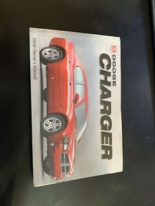 2006 DODGE CHARGER OWNERS MANUAL SUPPLEMENT SET