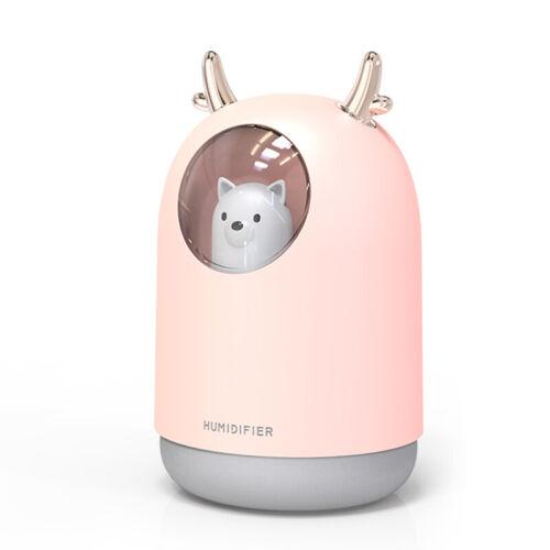 Chargeur USB humidificateur Mini Household petit Hydratant Aromathérapie voiture