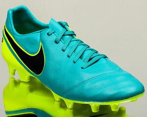 e4addca030afe Nike Tiempo Mystic V FG 5 men soccer cleats football NEW clear jade ...