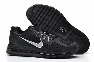 Details about Nike Air Max + 2013 Running Shoe size 7.5 554886 001 Mens BlackDark Grey