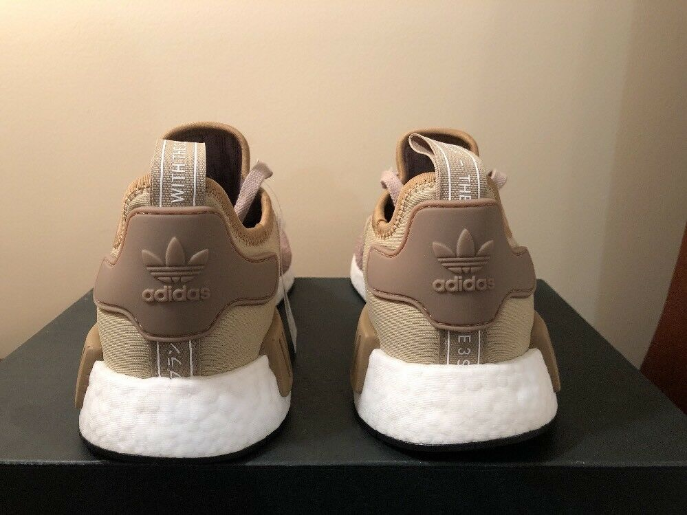best service e4be3 bb963 Adidas Men's Originals NMD NMD NMD R1 NEW AUTHENTIC Brown ...