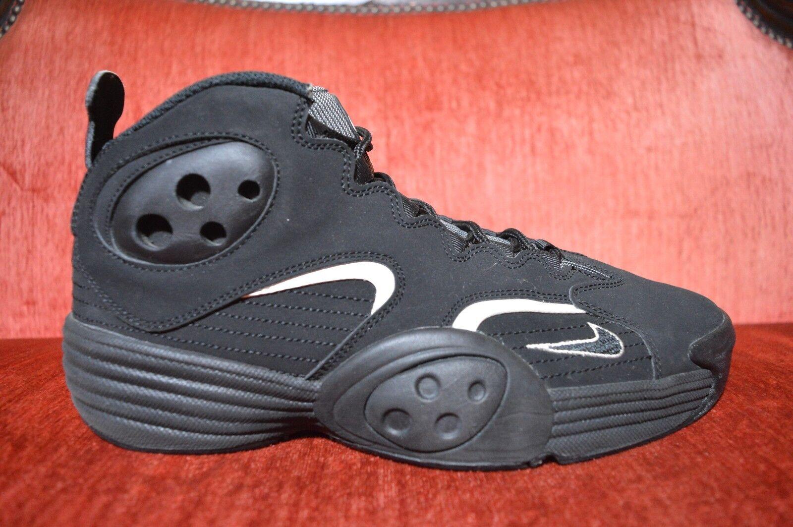 Nike Jordan 2012 Air Penny Flight 1 I One Black White Grey Size 10.5 538133 010