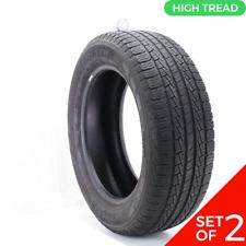 Set Of 2 Used 27555r20 Pirelli Scorpion Str 111h 85 9532 Fits 27555r20