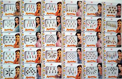 200 Different Packets of India Traditional Bindi Tika Tattoo - Free Shipping