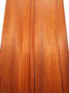Padouk Board Paduk Korallenholz Tonewood Pins 69x29, 5cm 25mm