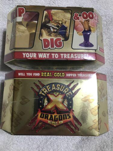Trésor X Dragons Gold Pack saison 2 sous blister lot de 2 neuf//jamais ouvert