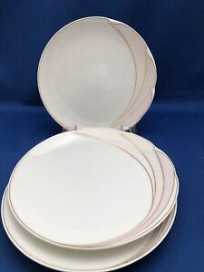 Set of 3 EN VOGUE by HUTSCHENREUTHER Maxim's De Paris Bread & Butter Plates