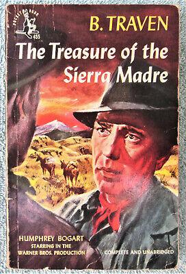 B TRAVEN Treasure of the Sierra Madre vintage pb Movie Tie-In Bogart cover    eBay