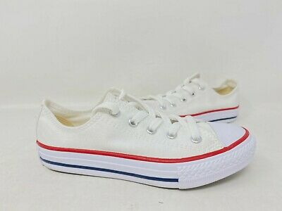 New White N4 Youth Converse 3J256 Chuck Taylor All Star Low Sneakers