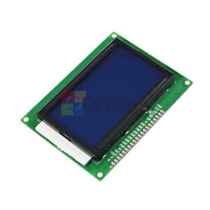 5V 12864 LCD 128x64 Dots Graphic LCD Display Matrix Module Blue Backlight