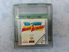 TOM & JERRY IN MOUSE ATTACKS! - NINTENDO GAME BOY COLOR GBC - PAL ITALIANO LOOSE