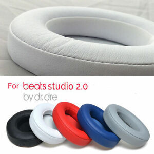 2x-Replacement-Ear-Pad-Cushion-for-Beats-by-dr-dre-Studio-Headphone-Wireless-NEW
