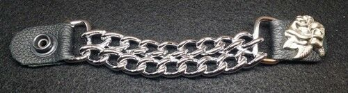 "Rose Approx 6/"" Chrome Chain Vest Extender-Extension"