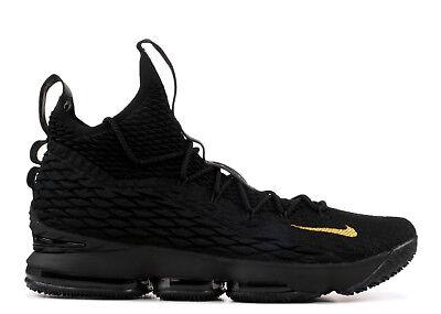 Nike LeBron 15 XV PK80 PE Black Gold