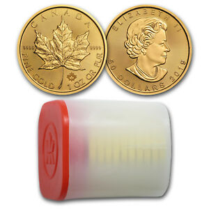 Bank-Wire-Payment-2019-Canada-1-oz-Gold-Maple-Leaf-BU-Lot-of-10