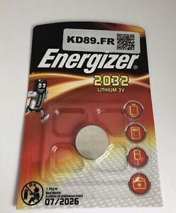 Detalles De Pile Energizer Cr 2032 Lithium 3 V Clef Voiture Seiko Montre Val Juil 2026